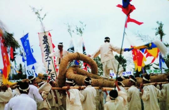 Image result for korean tug of war