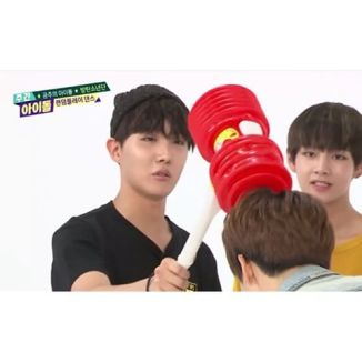 Image result for weekly idol toy hammer