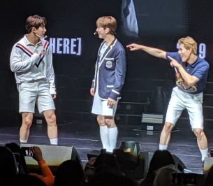 Monsta X 'We Are Here Tour' Texas 2019  – KPOP Jacket Lady